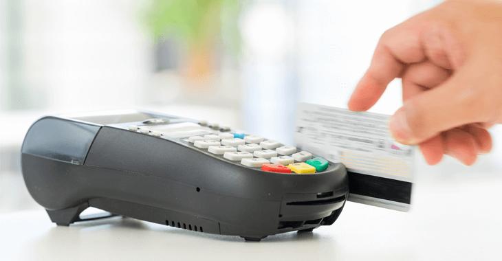 クレジットカード決済端末